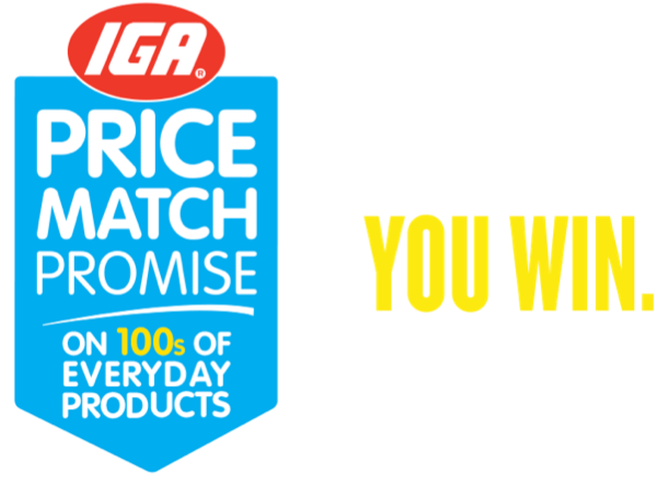 IGA Thirroul Price Match Promise - we check our prices, you win